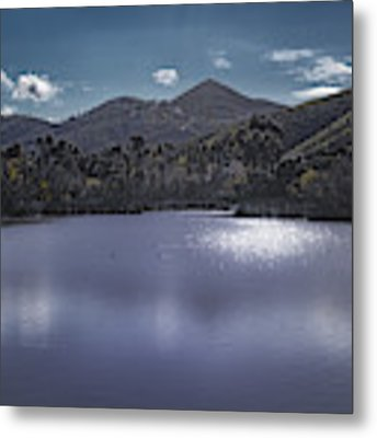 Discovery Lake Beauty Metal Print by Alison Frank