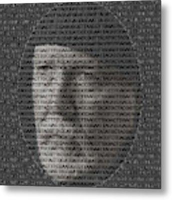 Genetic Self Portrait Metal Print by Rein Nomm