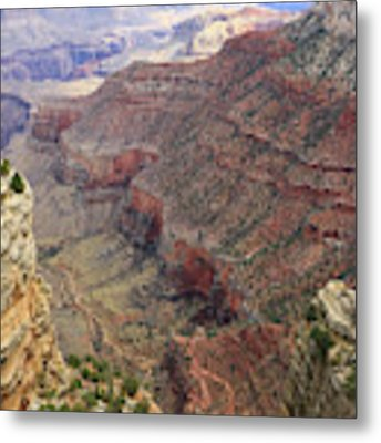 Grand Canyon View 4 Metal Print by Dawn Richards