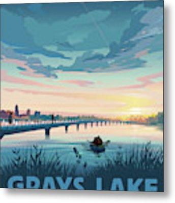 Grays Lake Metal Print by Clint Hansen