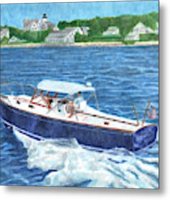 Great Ackpectations Nantucket Metal Print by Dominic White