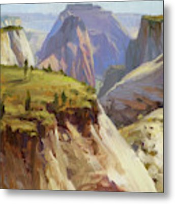 High On Zion Metal Print by Steve Henderson