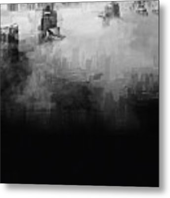 High Society Metal Print by ISAW Company