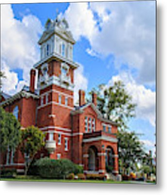 Historic Gwinnett County Courthouse Metal Print by Doug Camara