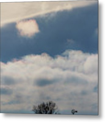 Iridescent Clouds 02 Metal Print by Rob Graham