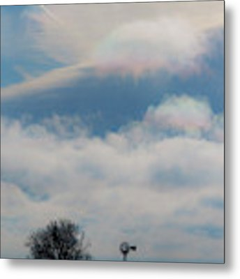 Iridescent Clouds 03 Metal Print by Rob Graham