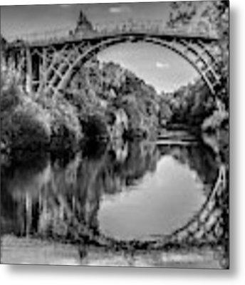 Iron Bridge Shropshire  Metal Print by Adrian Evans