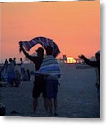 Just Another California Sunset Metal Print by Ron Cline