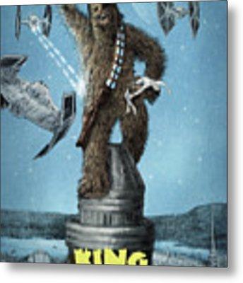 King Wookiee Metal Print by Eric Fan