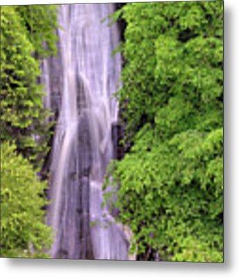 Lower Falls Of Acharn - Perthshire Scotland - Waterfall Metal Print by Jason Politte