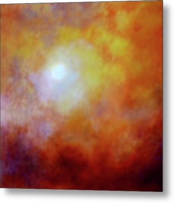 Luminescence Metal Print by Valerie Anne Kelly