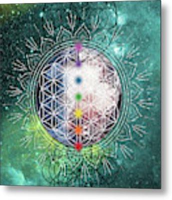 Lunar Mysteries Metal Print by Bee-Bee Deigner