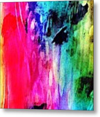 Luxe Splash  Metal Print by Rachel Maynard