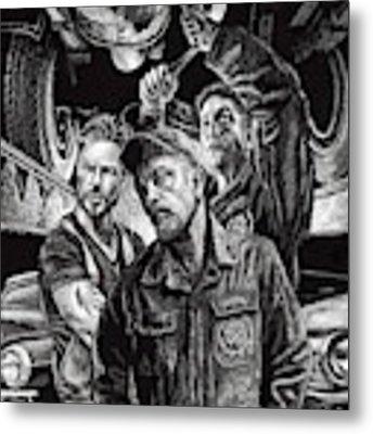 Mechanics Metal Print by Clint Hansen