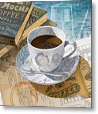 Morning Coffee Metal Print by Clint Hansen