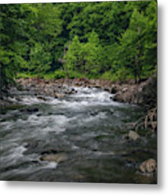 Mountain Stream In Summer #2 Metal Print by Tom Claud