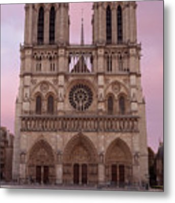 Notre Dame Cathedral Dawn Metal Print by Jemmy Archer
