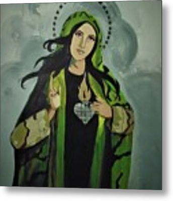 Our Lady Of Veteran Suicide Metal Print by MB Dallocchio