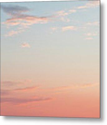 Outer Banks Sailboat Sunset Metal Print by Nathan Bush