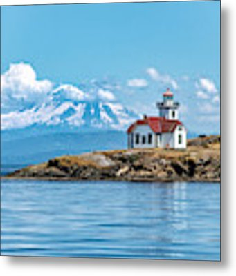 Patos Island Lighthouse  Metal Print by Rand