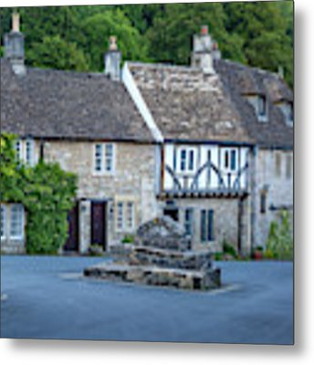 Pre-dawn In Castle Combe Metal Print by Brian Jannsen