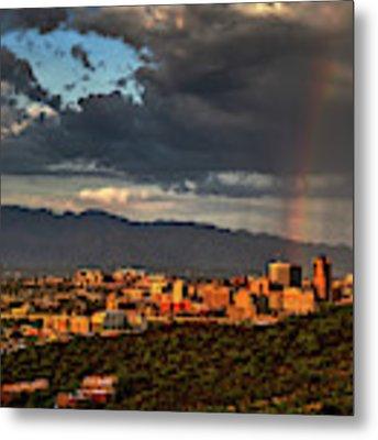Rainbow Over Tucson Metal Print by Chance Kafka