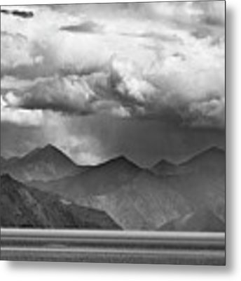 Rains In China Metal Print by Whitney Goodey