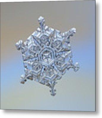 Real Snowflake - 05-feb-2018 - 18 Metal Print by Alexey Kljatov