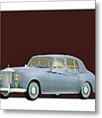 Rolls Royce Silver Cloud IIi 1963 Metal Print by Jan Keteleer