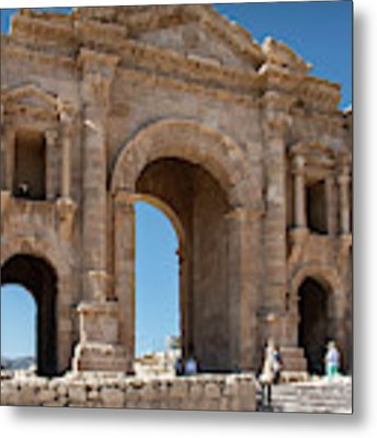 Roman Arched Entry Metal Print by Mae Wertz