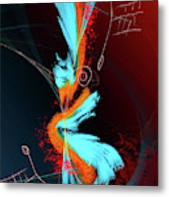 Seduction Metal Print by Skip Hunt