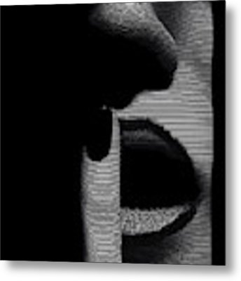 Shhh Metal Print by ISAW Company
