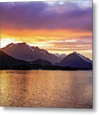 Sitka Sunrise Metal Print by Dawn Richards