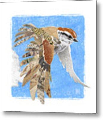 Sparrow Metal Print by Clint Hansen