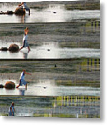 Stone Throw Sequence Metal Print by Rein Nomm