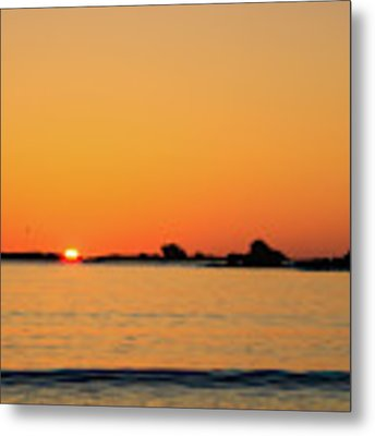 Sunset Over Sunset Bay, Oregon 4 Metal Print by Dawn Richards
