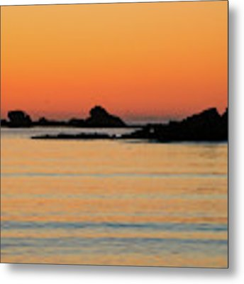 Sunset Over Sunset Bay, Oregon 5 Metal Print by Dawn Richards