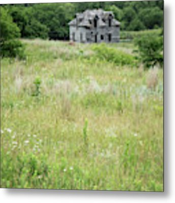 The Abandoned Farm In Summer Metal Print by Mary Lee Dereske