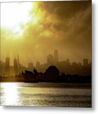 The City Metal Print by Philip Rodgers