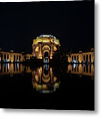 The Palace Of Fine Arts Metal Print by Philip Rodgers