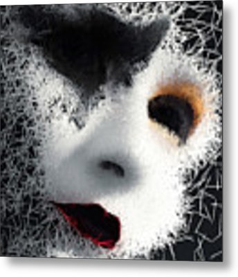 The Phantom Of The Arts Metal Print by ISAW Company