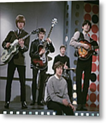 The Rolling Stones Metal Print by Paul Popper/popperfoto