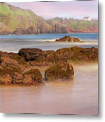 The Sea Fog Of St Cyrus - Scotland - Rock Hall Fishing Station Metal Print by Jason Politte