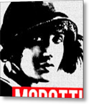 Tina Modotti Metal Print by MB Dallocchio