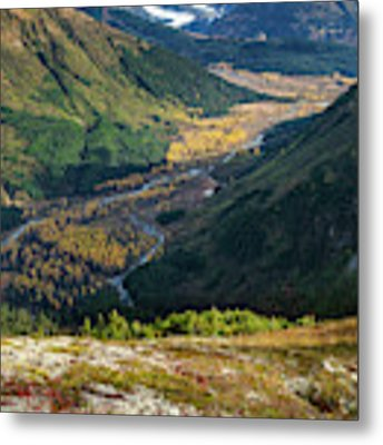 Twentymile Glacier Metal Print by Tim Newton