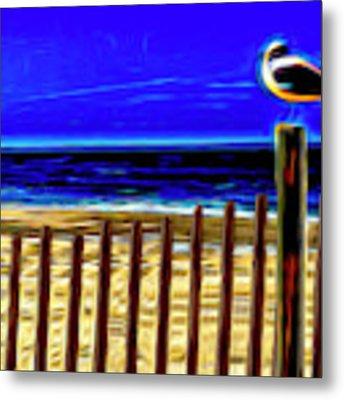 Watchin' The Tide Roll, Away Metal Print by Paul Wear