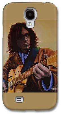 Neil Young Galaxy S4 Cases