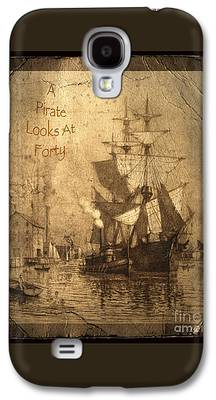 Historic Schooner Photographs Galaxy S4 Cases