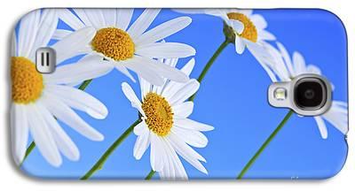 Garden Flowers Photographs Galaxy S4 Cases