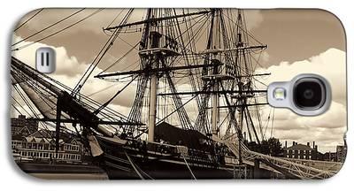 Ship In Sepia Galaxy S4 Cases